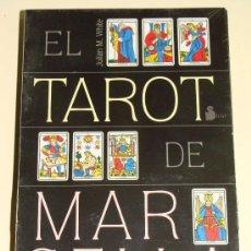 Barajas de cartas: PACK EL TAROT DE MARSELLA. BARAJA DE CARTAS + LIBRO + CAJA. JULIAN WHITE. SIRIO. . Lote 30711877