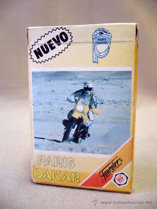 BARAJA, PARIS DAKAR, FOURNIER, 1988, 33 CARTAS (Juguetes y Juegos - Cartas y Naipes - Barajas Infantiles)