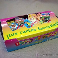 Barajas de cartas: CAJA, NAIPES FOURNIER, CAJA DE CARTON DE 12 BARAJAS POCACHONTAS. Lote 30870413