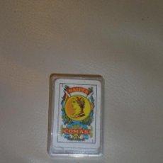 Barajas de cartas: MINI BARAJA DE CARTAS NAIPES ESPAÑOLA DE COMAS. MINIATURA. . Lote 30837816