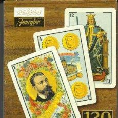 Barajas de cartas: OPORTUNIDAD.NAIPES FOURNIER BARAJA 130 ANIVERSARIO 1868-1998. BARAJA DE COLECCION EN CAJA NUEVA. Lote 38695079