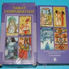 Barajas de cartas: BARAJA DE TAROT COMPARATIVO: MARSELLA, ESFINGE, ORÍGENES. LO SCARABEO. BONITOS NAIPES.. Lote 30956522