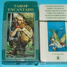 Barajas de cartas: BARAJA DE TAROT ENCANTADO. LO SCARABEO. BONITOS NAIPES.. Lote 30956586