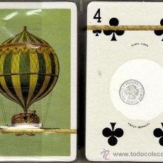 Barajas de cartas: ESTUCHE 2 BARAJAS PÓKER FOURNIER, REVERSO GLOBOS. Lote 30962606