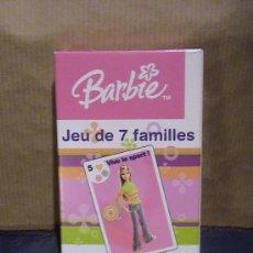 Barajas de cartas: BARAJA CARTAS BARBIE. Lote 30983858