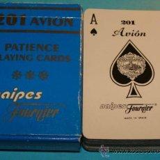 Barajas de cartas: BARAJA DE CARTAS DE PÓKER. NAIPES HERACLIO FOURNIER. 201 FOURNIER. 55 NAIPES. . Lote 31004847