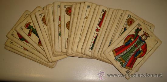 BARAJA DE CARTAS LA LOBA DE JUAN ROURA. 1939. 40 CARTAS. (Juguetes y Juegos - Cartas y Naipes - Baraja Española)