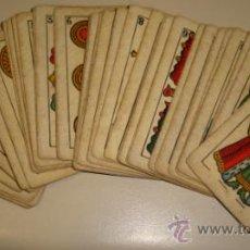 Barajas de cartas: BARAJA DE CARTAS LA LOBA DE JUAN ROURA. 1939. 40 CARTAS. . Lote 31006831