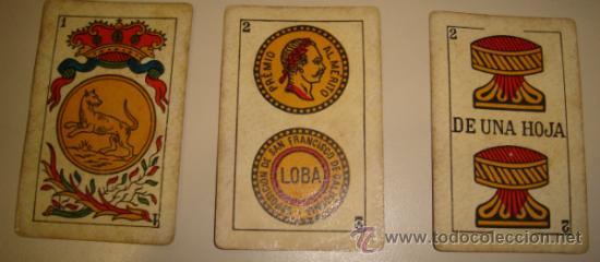 Barajas de cartas: BARAJA DE CARTAS LA LOBA DE JUAN ROURA. 1939. 40 CARTAS. - Foto 5 - 31006831