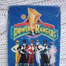 Barajas de cartas: BARAJA DE CARTAS FOURNIER. POWER RANGERS 1995. Lote 31032028