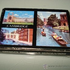 Barajas de cartas: BARAJA DE CARTAS POKER BRIDGE ** CAMBRIDGE ** EN CAJA ORIGINAL . AÑO 1980. Lote 31100671