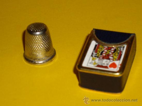 Barajas de cartas: MINI BARAJA DE CARTAS DE POKER - Foto 2 - 31136391