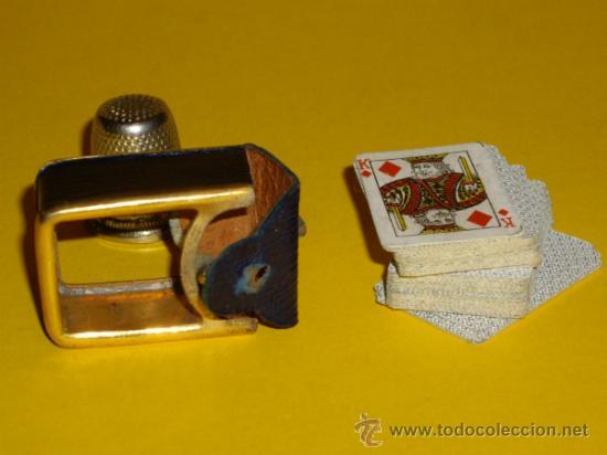 Barajas de cartas: MINI BARAJA DE CARTAS DE POKER - Foto 4 - 31136391