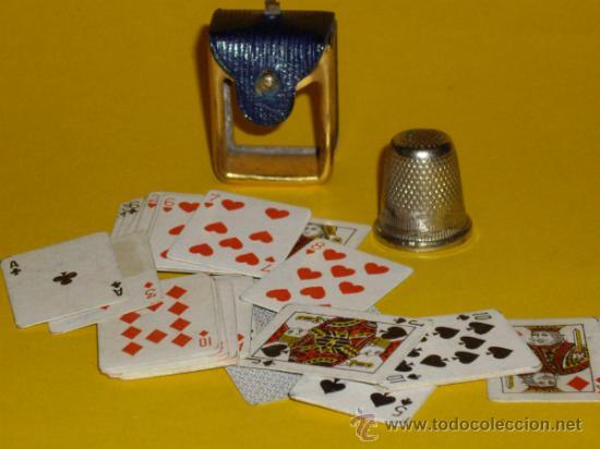 Barajas de cartas: MINI BARAJA DE CARTAS DE POKER - Foto 5 - 31136391