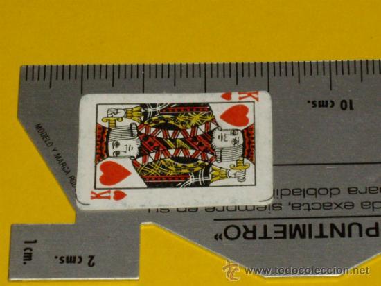 Barajas de cartas: MINI BARAJA DE CARTAS DE POKER - Foto 7 - 31136391