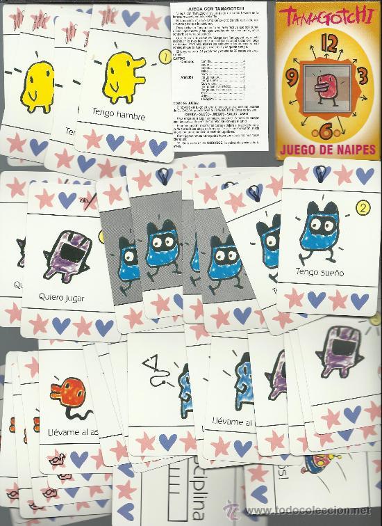 RARA BARAJA DE CARTAS DE FOURNIER TAMAGOTCHI (Juguetes y Juegos - Cartas y Naipes - Otras Barajas)