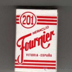 Barajas de cartas: ( M) BARAJA HERACLIO FOURNIER VITORIA - ESPAÑA , AVION 201 ( COMPLETA ). Lote 31166651