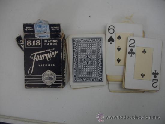 LOTE 1 BARAJA HERACLIO FOURNIER (Juguetes y Juegos - Cartas y Naipes - Baraja Española)