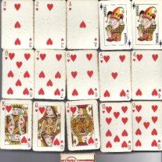 Barajas de cartas: BARAJA PARA AVIÓN DE HERACLIO FOURNIER. MODELO 201. COMPLETA. EN CAJA ORIGINAL. Lote 31318150