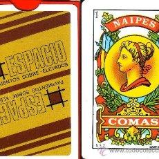 Barajas de cartas: ESPACIO - BARAJA ESPAÑOLA 40 CARTAS. Lote 31336370