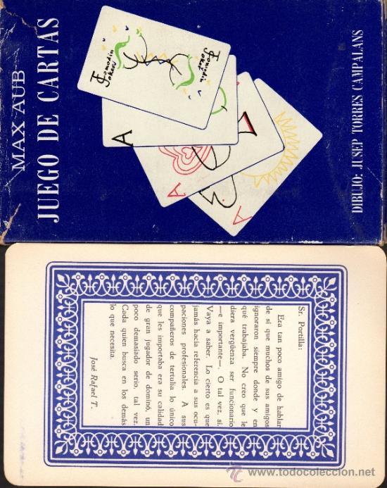 Barajas de cartas: MAX AUB. JUEGO DE CARTAS. EXCEPCIONAL LOTE ORIGINAL DE COLECCIONISTA. MEXICO 1964. - Foto 5 - 31341218