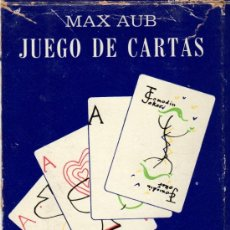 Barajas de cartas: MAX AUB. JUEGO DE CARTAS. EXCEPCIONAL LOTE ORIGINAL DE COLECCIONISTA. MEXICO 1964.. Lote 31341218