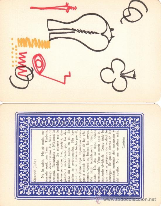 Barajas de cartas: MAX AUB. JUEGO DE CARTAS. EXCEPCIONAL LOTE ORIGINAL DE COLECCIONISTA. MEXICO 1964. - Foto 3 - 31341218