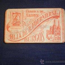 Barajas de cartas: BARAJA DE LA HIJA DE B.FOURNIER S.L. - FÁBRICA DE NAIPES, BURGOS.. Lote 31392433