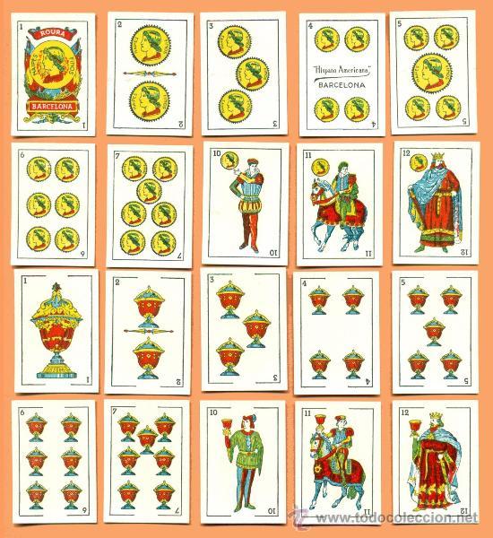 BARAJA LILIPUT LA HISPANO AMERICANA. JUAN ROURA. (Juguetes y Juegos - Cartas y Naipes - Baraja Española)