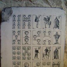 Barajas de cartas: PIEDRA LITOGRÁFICA NAIPES HIJOS DE B. FOURNIER (BURGOS). Lote 31403694