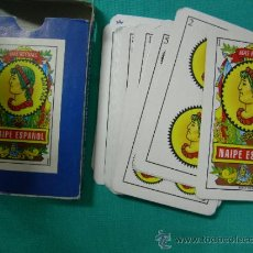 Barajas de cartas: BARAJA CARTAS NAIPE ESPAÑOL - MAS REYNALS - MOD. 201 50 CARTAS. Lote 31612584
