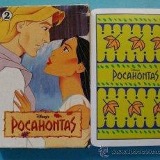 Barajas de cartas: BARAJA DE CARTAS INFANTIL. FOURNIER. POCAHONTAS. DISNEY. 33 NAIPES.. Lote 31546811