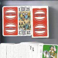 Barajas de cartas: 3877- ESTUCHE DE CARTON CON 78 CARTAS TAROT -PUBLICIDAD DE CITROËN. Lote 31667273