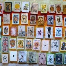 Barajas de cartas: LOTE DE 31 BARAJAS DE NAIPES (CARTAS) DE 1647 A 1965 (EDICIONES FACSÍMILES). Lote 31767374