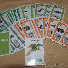 Barajas de cartas: BARAJA DE CARTAS ANIMALES, BIODIVER. MUY RARA Y DIFICIL DE CONSEGUIR.. Lote 31779086