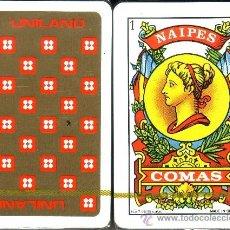Barajas de cartas: UNILAND - BARAJA ESPAÑOLA 50 CARTAS. Lote 31801540