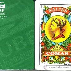Barajas de cartas: UBF - BARAJA ESPAÑOLA 40 CARTAS. Lote 31801858