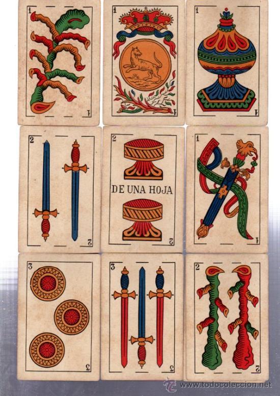 BARAJA MARCA LA LOBA, 40 CARTAS, 1928 (Juguetes y Juegos - Cartas y Naipes - Baraja Española)
