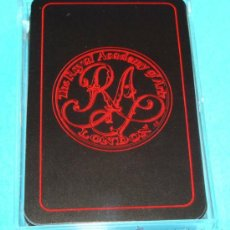 Barajas de cartas: BARAJA DE CARTAS DE PÓKER BRIDGE. AÑO 1983. ROYAL ACADEMY OF ARTS. LONDRES, INGLATERRA. . Lote 31885554