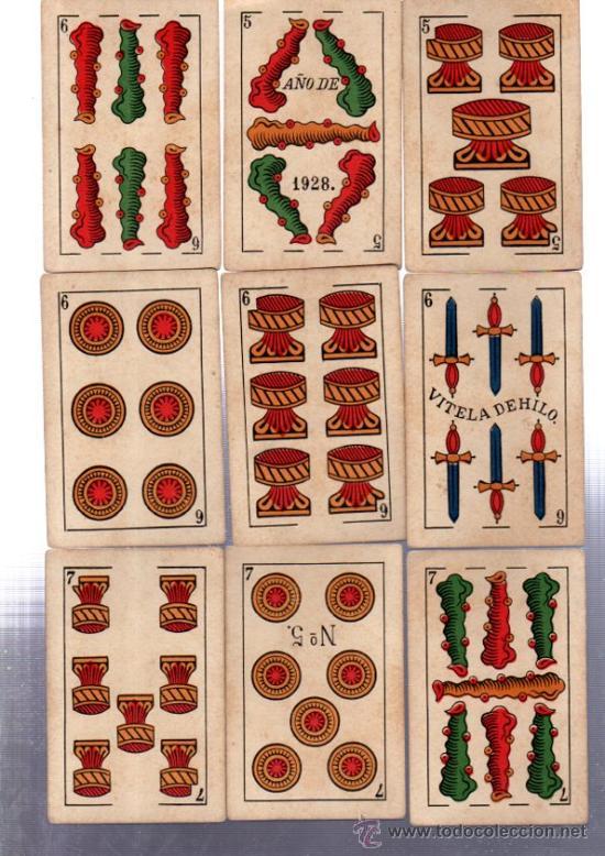 Barajas de cartas: BARAJA MARCA LA LOBA, 40 CARTAS, 1928 - Foto 5 - 31876320