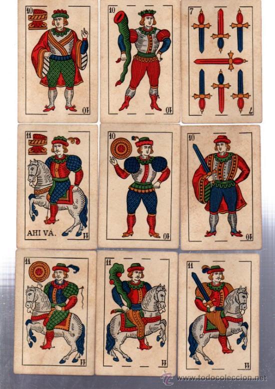 Barajas de cartas: BARAJA MARCA LA LOBA, 40 CARTAS, 1928 - Foto 4 - 31876320
