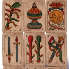 Barajas de cartas: BARAJA LA LOBA, 40 CARTAS, 1939, HISPANO AMERICANA, JUAN ROURA. Lote 31887065