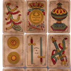 Barajas de cartas: BARAJA LA LOBA, HISPANO AMERICANA, MUY ANTIGUA, 40 CARTAS. Lote 31887811