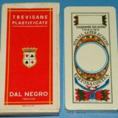 Barajas de cartas: BARAJA CLÁSICA ITALIANA. AÑO 1978. DAL NEGRO, TREVISO. REVERSO VENECIA. . Lote 31900633