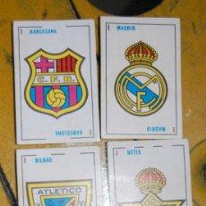 Barajas de cartas: BARAJA FUTBOL AÑOS 1950-60. Lote 31903907