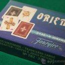 Barajas de cartas: NAIPES SOLITARIOS FOURNIER Nº 202-376-377 ORIENT PATIENCE PLAYING CARDS. Lote 40683419