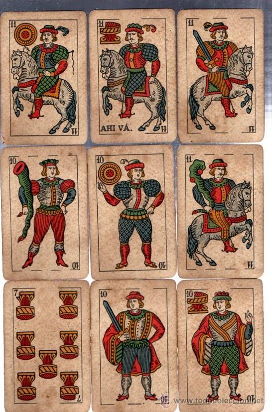 Barajas de cartas: BARAJA LA LOBA, 40 CARTAS, 1939, HISPANO AMERICANA, JUAN ROURA - Foto 2 - 31887065