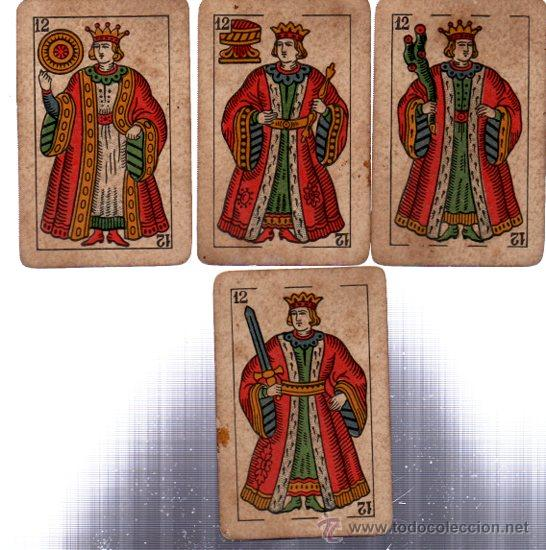 Barajas de cartas: BARAJA LA LOBA, 40 CARTAS, 1939, HISPANO AMERICANA, JUAN ROURA - Foto 5 - 31887065