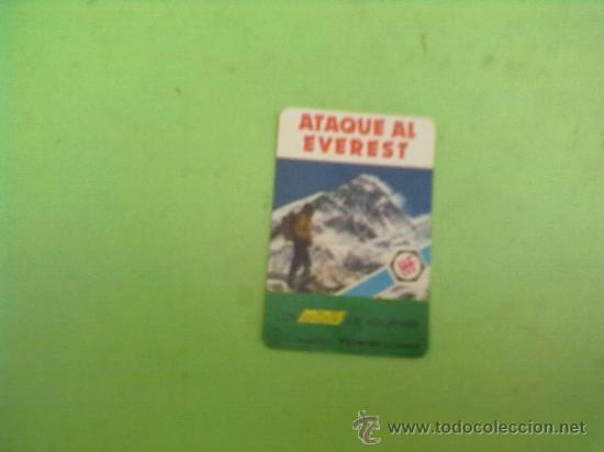 Barajas de cartas: MINI BARAJA MINIS DE FOURNIER,ATAQUE AL EVEREST Nº5 H.FOURNIER AÑO 1978-24 CARTAS +INSTRUCIONES - Foto 2 - 31938402
