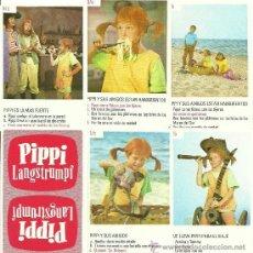 Barajas de cartas: PIPPI LANGSTRUMPF - CARTAS INFANTILES DORSO ROJO. Lote 84686643
